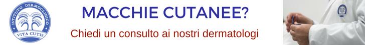 Macchie cutanee: consulto online del migliore dermatologo a Milano all'Istituto Dermoclinico Vita Cutis Plinio