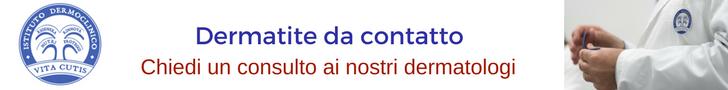 Dermatite da contatto: consulto online del migliore dermatologo a Milano all'Istituto Dermoclinico Vita Cutis Plinio