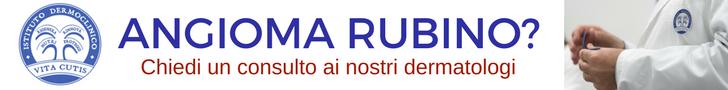 Angioma rubino: consulto online del migliore dermatologo a Milano all'Istituto Dermoclinico Vita Cutis Plinio