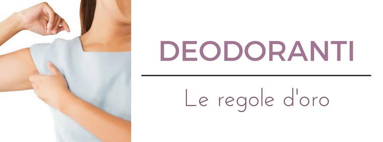 Deodoranti: i migliori consigli del Dermatologo Antonino Di Pietro dell'Istituto Dermoclinico Vita Cutis di Milano
