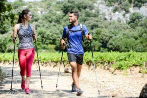 Nordic walking il miglior sport per tonificare e ridurre la buccia d'arancia.