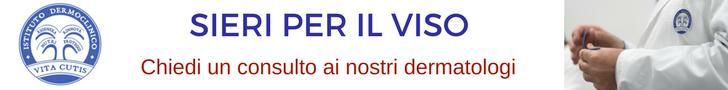 Sieri per il viso: consulto online del migliore dermatologo a Milano all'Istituto Dermoclinico Vita Cutis Plinio