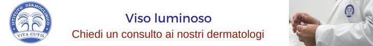 Viso luminoso con la terapia biofotonica: consulto online del migliore dermatologo a Milano all'Istituto Dermoclinico Vita Cutis Plinio