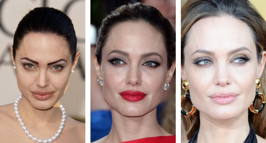 Angelina Jolie e il microblading.