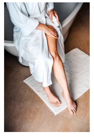 Come scegliere la crema doposole per le gambe