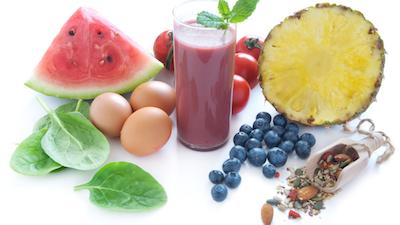 Alimenti che costituiscono la dieta colorata